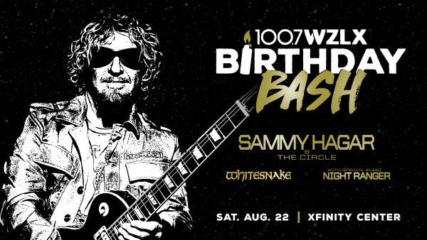 None - WZLX 35th Birthday Bash with Sammy Hagar
