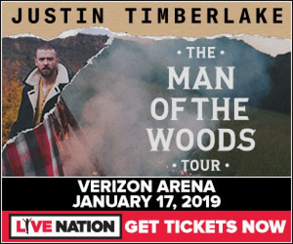 None - Win tickets to see Justin Timberlake in Little Rock!