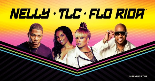 None - Win tickets to see Nelly, TLC and Flo Rida at The AMP!