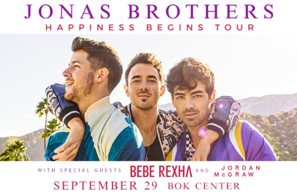 None - Win tickets to see the Jonas Bros at the BOK Center
