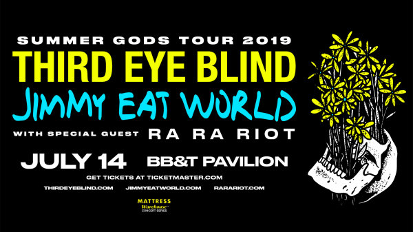 None -  WIN THIRD EYE BLIND TICKETS