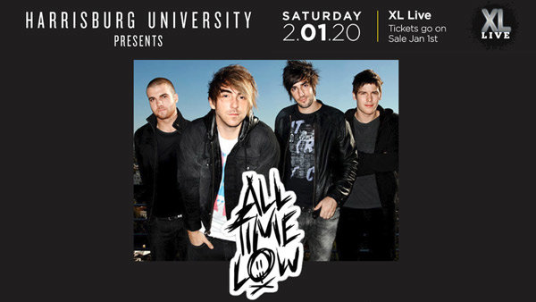 None - HARRISBURG UNIVERSITY PRESENTS ALL TIME LOW!