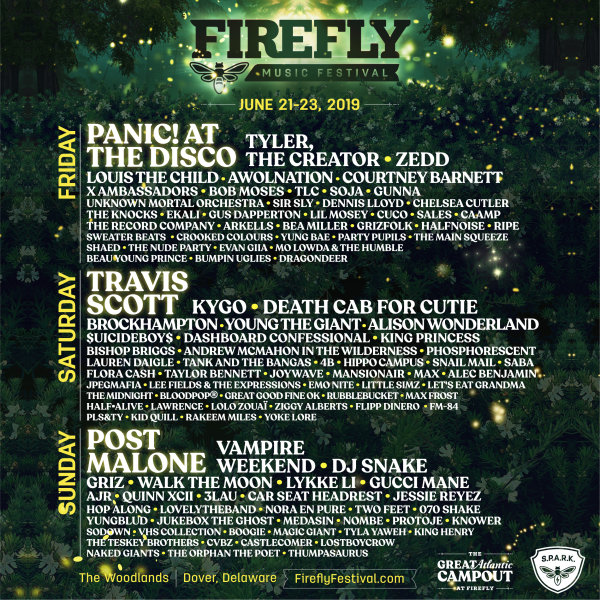 None - FIREFLY TICKETS