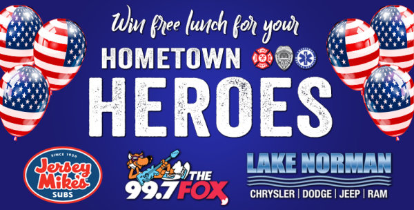 None -  Nominate a Hometown Hero to Win Free Lunch