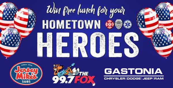 None -   Nominate a Hometown Hero to Win Free Lunch!