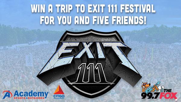 None - Win a Trip to Exit 111 Festival!