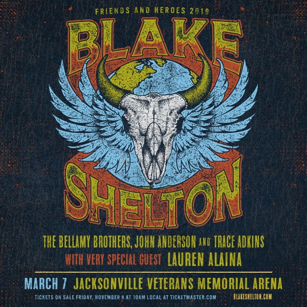 None -  Blake Shelton's Friends and Heroes Tour
