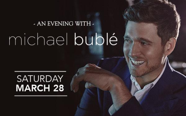 None - Win Michael Bublé Tickets!