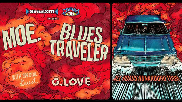 None - Moe. and Blues Traveler All Roads Runaround Tour Tickets