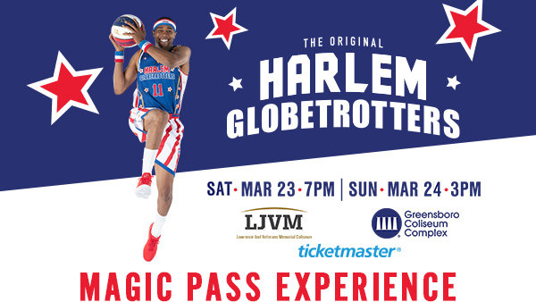 None -  Harlem Globetrotters  Magic Pass Experience