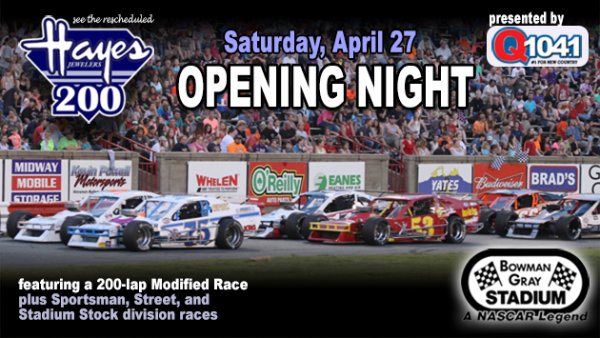 None - Bowman Gray Racing Tickets