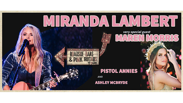 None - Miranda Lambert Roadside Bars and Pink Guitars Tickets