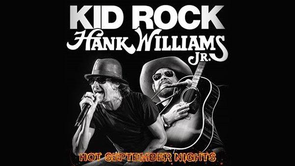 None - Hot September Nights Kid Rock and Hank Williams Jr