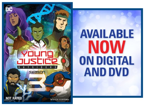 None - Young Justice: Outsiders: Season 3