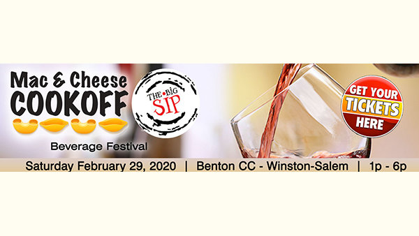 image for 3rd Annual Big Sip NC Craft Beverage Festival Mac & Cheese Cook Off