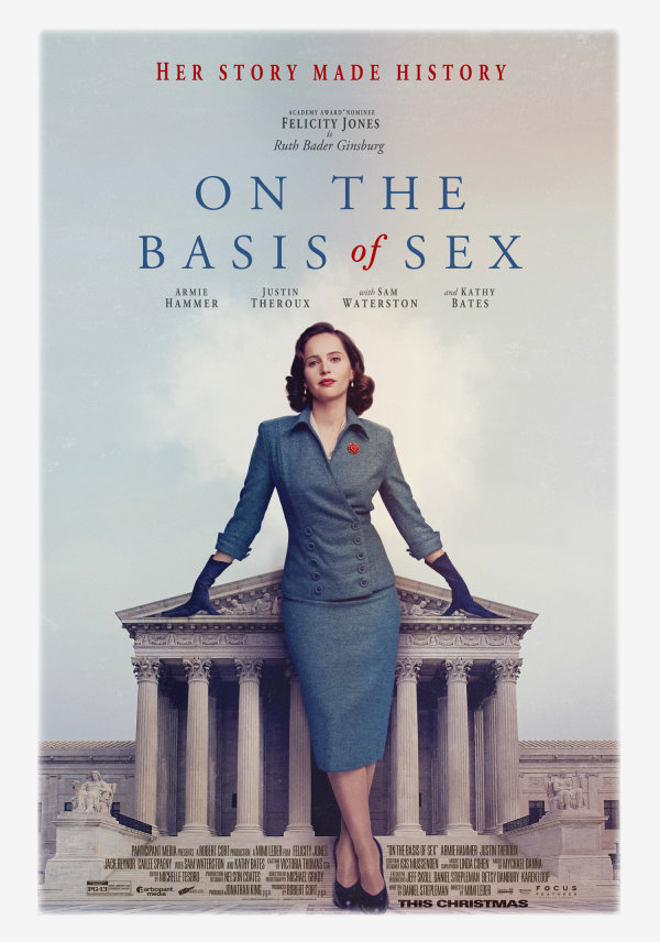 None -  Win Tickets to a Movie Screening of On the Basis of Sex