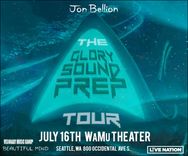 None - Win a Pair of Tickets to see Jon Bellion's Glory Sound Prep Tour