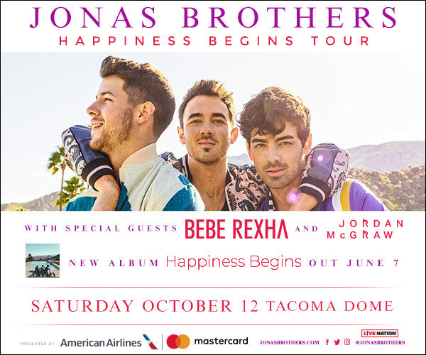 None -  Win Tickets to see Jonas Brothers!