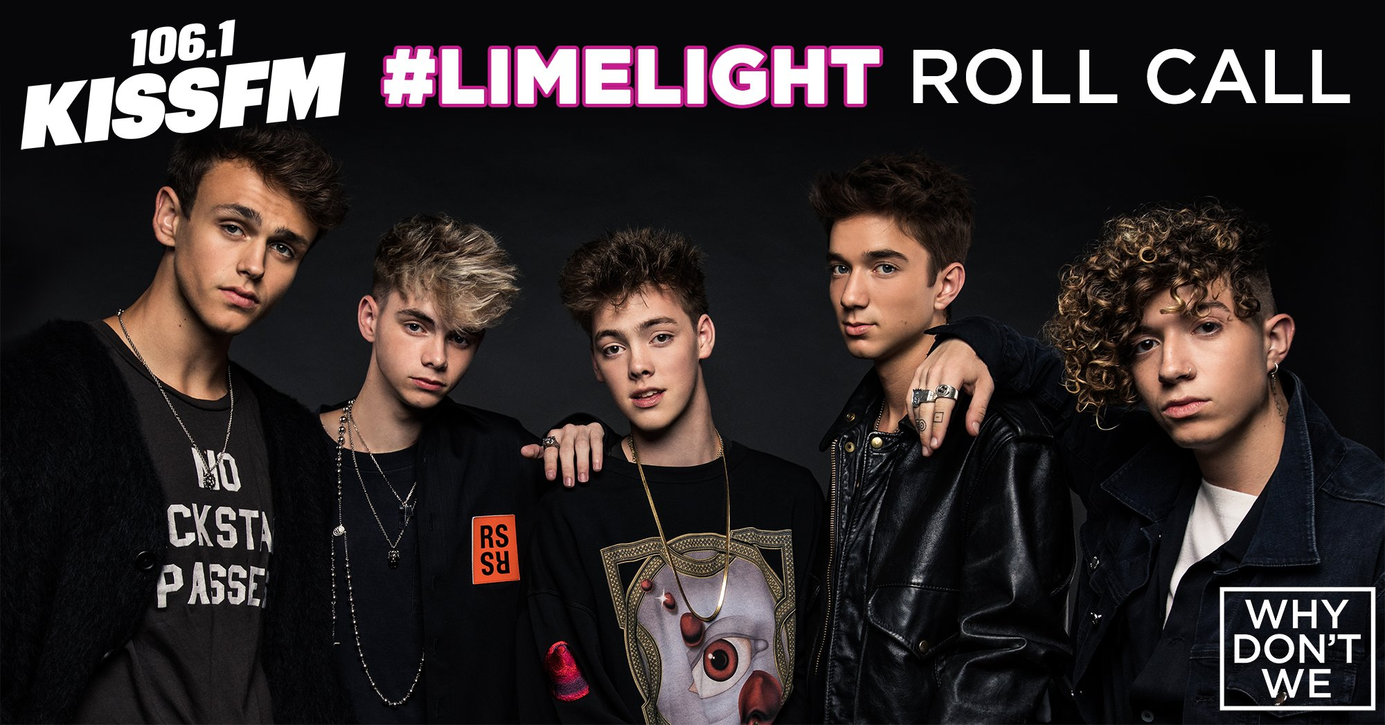 106 1's #Limelight Backstage Roll Call