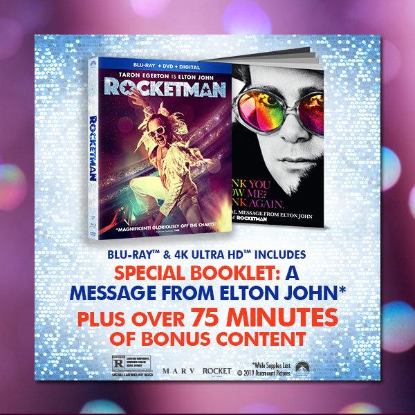 Rocketman on Blu Ray