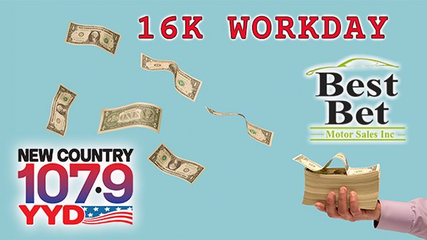 None - Listen to Win $1,000 With the 16K Workday!