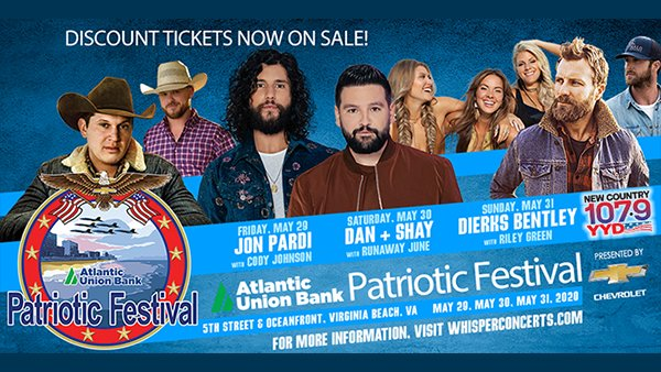 None - Listen To Scott Stevens To Win Tickets To The 2020 Patriotic Festival!