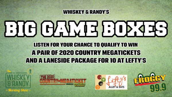 None - Whiskey & Randy's Big Game Boxes