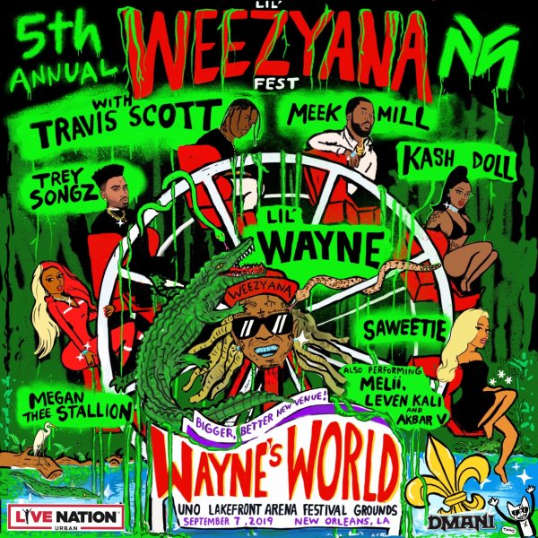 None -      WFMF wants to send you to Lil WeezyAna Fest!