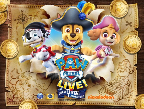 None - See Paw Patrol Live at the Raising Canes River Center!