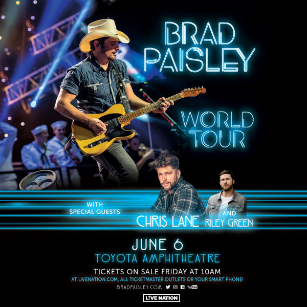 None - Win Brad Paisley Tickets!