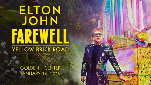 None - Win Tickets to see Elton John!