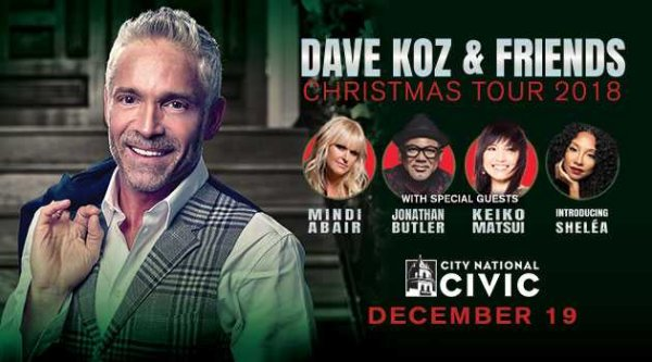 None -  Win a Pair of Tickets to the Dave Koz and Friends Christmas Tour!