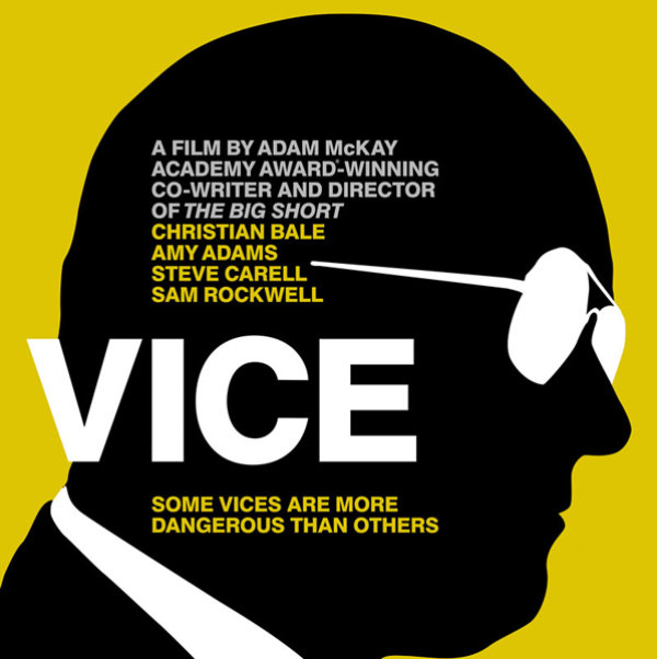 None - Win a pair of tickets to see Vice!
