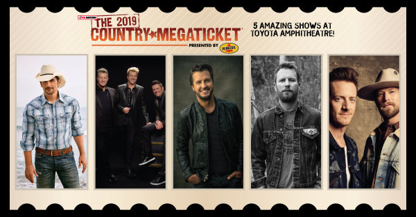 None - Win a pair of 2019 Country MEGATICKETS!