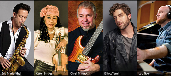 None - Win a pair of tickets to Jazz Fusion Night: Special EFX All-Stars!