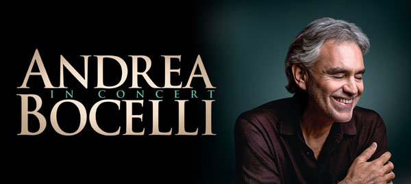 None - Win a Pair of Tickets to see Andrea Bocelli!