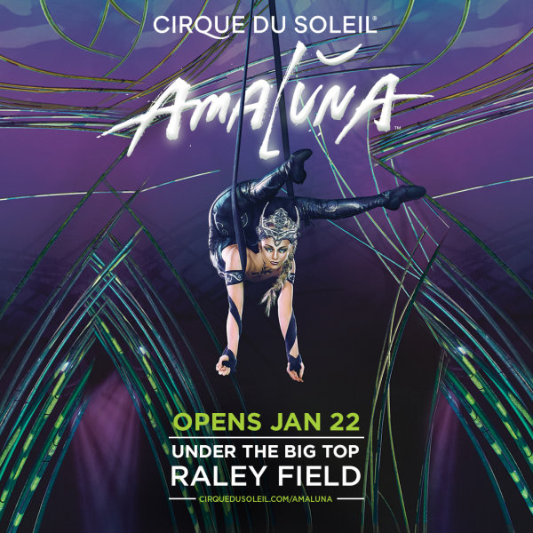 None - Win tickets to see Amaluna by Cirque du Soleil!