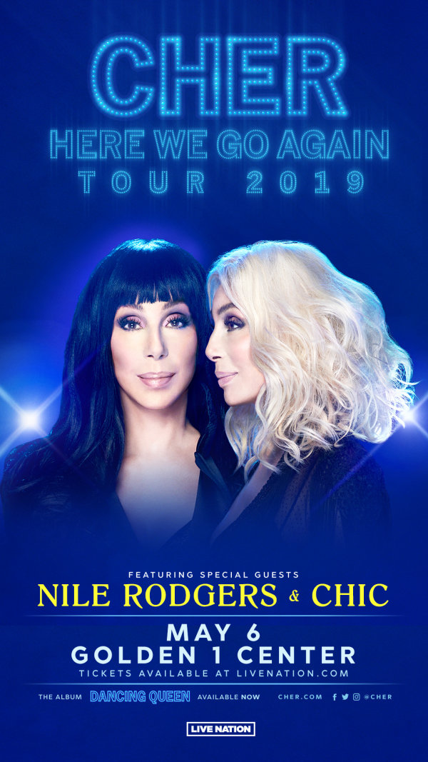 None - Win Tickets to see Cher!