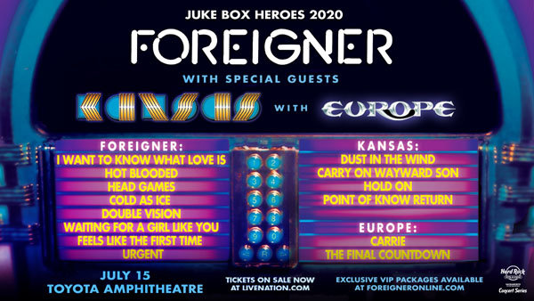None - Win a Pair of Tickets to see Foreigner!