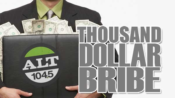 None -   The Thousand Dollar Bribe - Win $1000