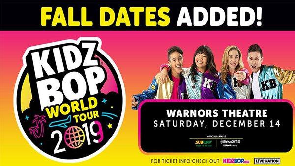None - Win Tickets To See Kids Bop Live!