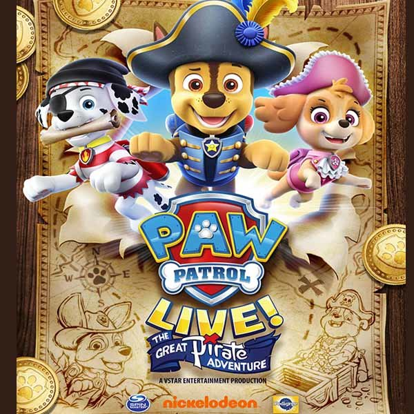 None - Paw Patrol Live Coming to Fairbanks - Win a Family 4-Pack!
