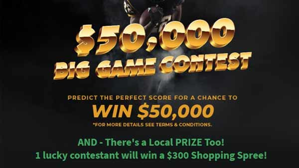 None -  2020 Big Game Contest