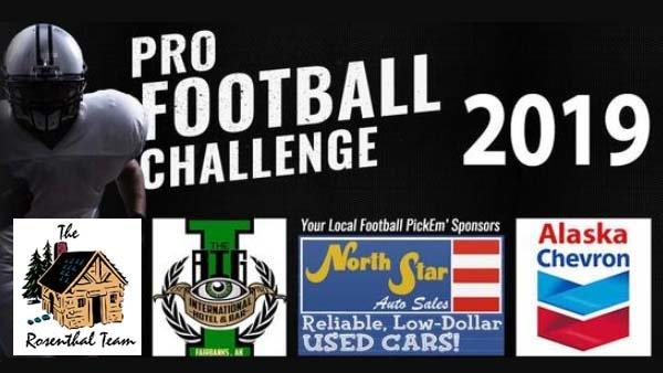 None - Pro Football Pick'Em Challenge 2019