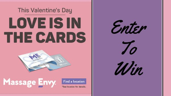 None -  Massage Envy Valentine's Sweepstakes
