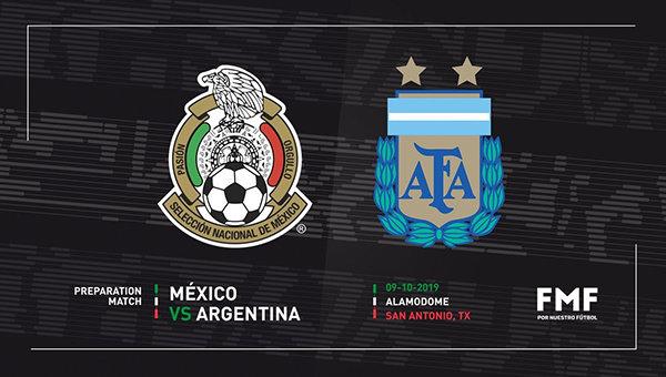 None - Gana Boletos al Partido de México vs. Argentina!