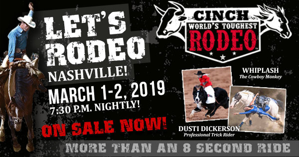 None - See Cinch World's Toughest Rodeo!