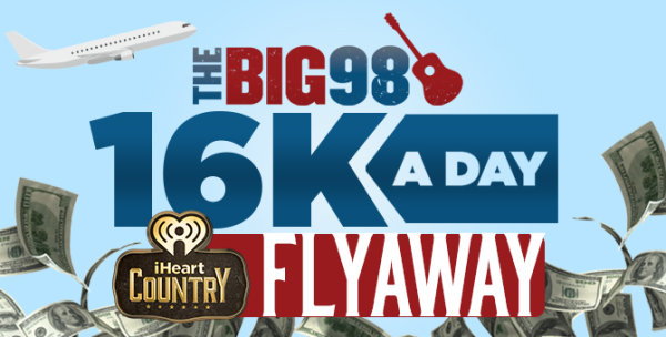 None - $16k a Day iHeartCountry Flyaway!