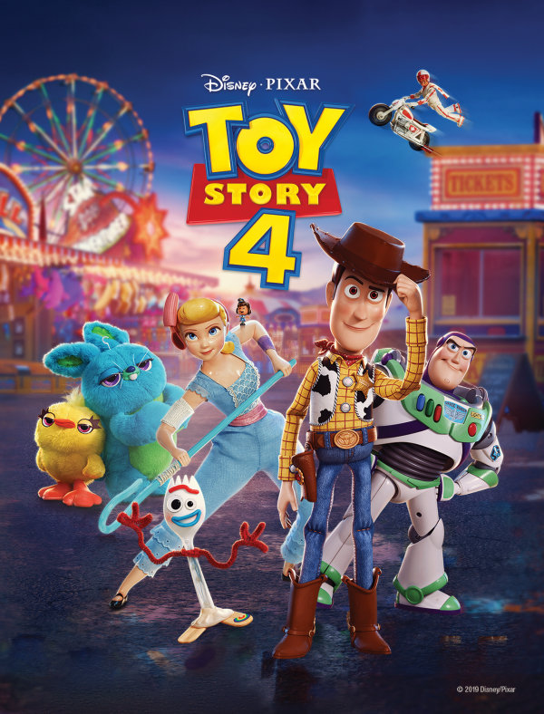 None - Enter to win a copy of Toy Story 4!