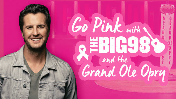 None - Go Pink with The BIG 98 and the Grand Ole Opry!
